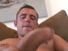 Pedro Andreas jacking off cock
