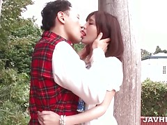 Yua Ariga superb scenes of naughty Asian sex