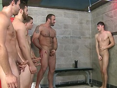 Jizz Shower - JO - Jizz Orgy - Spencer Reed - Tommy Defendi - Jimmy Johnson - Jack King - Hunter Page, Added: 2011-11-25, 00:01:08
