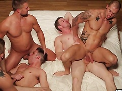 Rod's Fantasy - Jizz Orgy - Bobby Clark - Colby Jansen - Andrew Stark - Duncan Black - Rod Daily, Added: 2011-11-25, 00:01:07