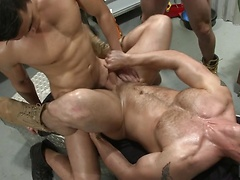 The Shop - JO - Jizz Orgy - John Magnum - Jimmy Johnson - Liam Magnuson - Lance Luciano - Dirk Caber