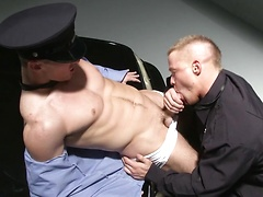 Two police officers having fun, Added: 2011-11-25, 00:01:15