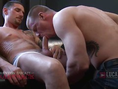 Erik Grant Returns to L.E. and Barebacks Blake Daniel's Ass