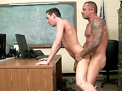 Kyle Savage barebacks Tyson James skinny ass, Added: 2011-11-25, 00:02:00