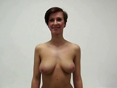 Czech Casting - Busty Nikola rides the cock