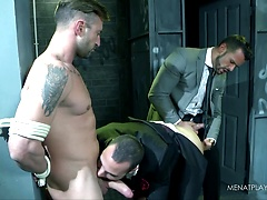 101 Things To Do With A Straight Guy : Tie Him Up, Starring Denis Vega, Paco & Caleb Roca