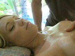 Wet Massage and Fondling