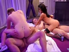 Foursome scene