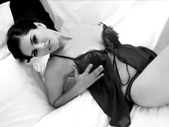 Sunny Plays In Her Sexy Lingerie
