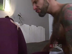 Jonathan Agassi and Jed Athens Take Turns Fucking Bareback