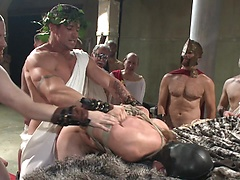 When in Rome, torture and gang bang!, Added: 2011-11-25, 00:00:49