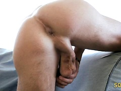 Marco Gagnon jerking off dick