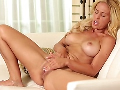 Very hot blond MILF Cherie Deville