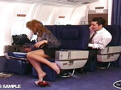 Kerry A - Vintage Leg Sex Part 2