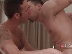 Nick North And Josh Milk Double Aaron Steel's Raw Pleasure