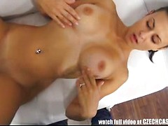 Stunning Big Tits Brunette PornJob Interview