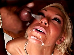 Hot milf gets used and fucked hard by two BBC