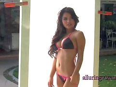 Nina posing