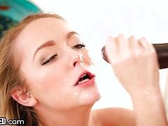 18 Year Old Iris Rose Throated
