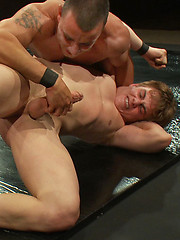 It\'s hot bodies, hard wrestling, big cocks and a brutal suck and fuck finale when a muscle stud fights a sexy all-American jock - winner fucks loser.