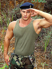 Brazilian soldier Arthur