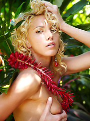 Lilly in Verdure by Erro