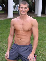 Cute college boy Timothy