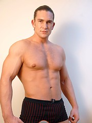 Bi-sexual Eastern European hunk David Bathory