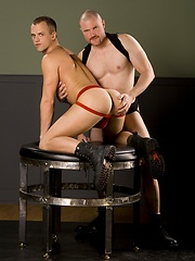 Aaron Summers and Steve Trevor- toying and fisting
