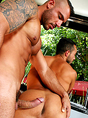 Pedro Andreas and Nico Aragon
