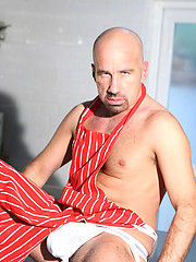 Hairy Man's Fat Cock - Jack Longo