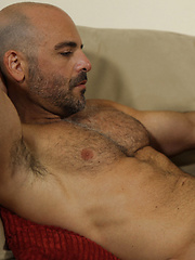 Hairy muscle men Rocky LaBarre and Adam Russo fucking