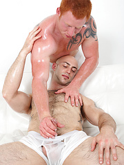 Red Guy Giving His Cock!