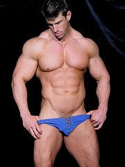 Loverboy. Zeb Atlas shows his big muscles.