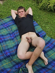 Euro boy Peter Bass shows his uncut dick