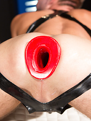 Trent Bloom and Alessio Romero in Club Inferno Dungeon - Fist Fuckers (Scene 1)