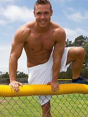Hot athlete Brody