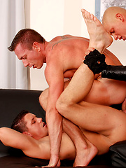 Double Penetration Threesome: Rod, Daz, & Casper