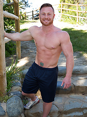 Kenton shows his muscled body