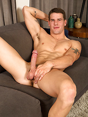 Tristan jacking off dick