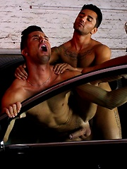 Sex on Cars - XXX Type. Starring Andrea Suarez and Bruno Bernal