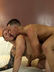 Flip-Fuck Facials: Max Cameron and Wolfie Blue