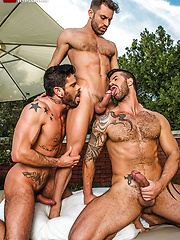 James Castle, Adam Killian, Mario Domenech - Raw Threesome