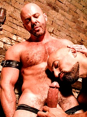Hairy Hunx Rocky Torrez and Carlo Cox