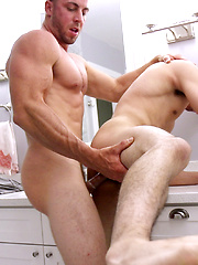 First-Time Bottom Lucas Garza Gets FUCKED By Derek Jones