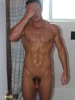Muscle Men sucking and licking gay cocks