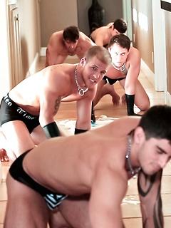 Gay Muscle Men Fetish Porn Pics