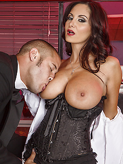 Big-titted mortician Ava Addams has lost a dear friend and fuck buddy. She misses the way he used to plow her, and lets us into her mind as she remembers the kinky and passionate sex they used to have in that very room.