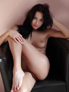 "Hot brunette babe Michaela Isizzu in ""Indiya"" by Deltagamma"
