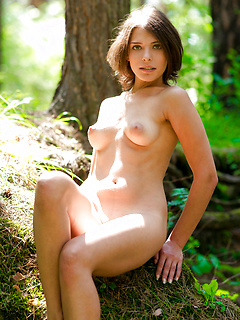 Perfect naked woman